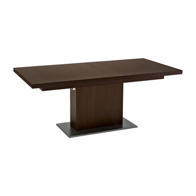 Waycross Dining Table Table Color: Wenge