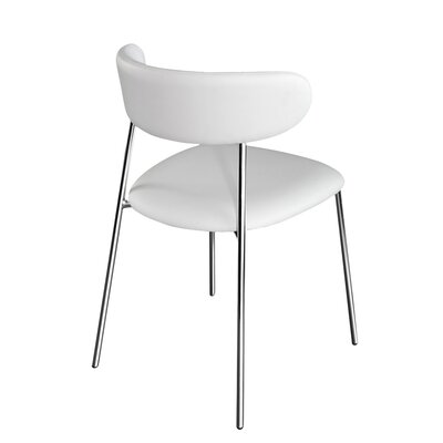 Anais Side Chair (Set of 2) Finish: Skill White