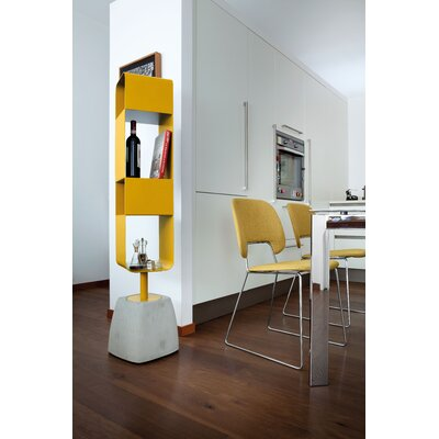 Urban-b Swivel 59.75 Bookcase Finish: Mustard Product Photo 6803