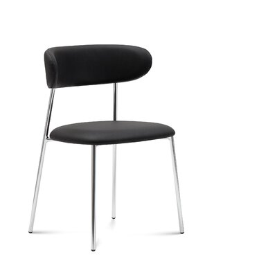 Anais Side Chair (Set of 2) Finish: Skill Black