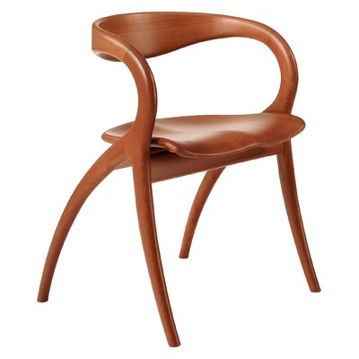 Star Solid Wood Dining Chair Finish: Light Cherry