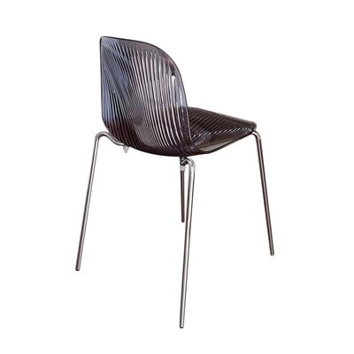 Playa Side Chair (Set of 2) Finish: Smoke