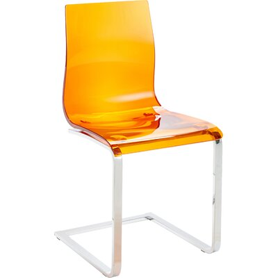 Gel SL Side Chair (Set of 2) Finish: Orange