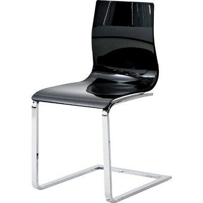 Gel SL Side Chair (Set of 2) Finish: Black