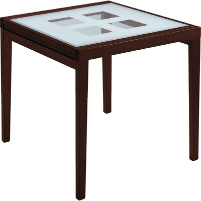 Poker-90 Extendable Dining Table Finish: Cherry