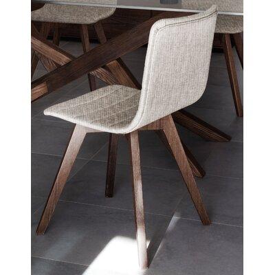Flexa-LX Side Chair (Set of 2) Frame: Anthracite, Seat: Flirt Sand