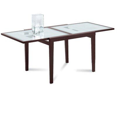 Poker-90 Extendable Dining Table Finish: Wenge