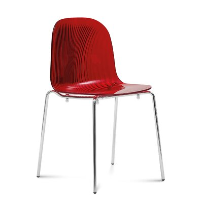 Playa Side Chair (Set of 2) Finish: Red
