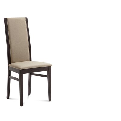 Low Price Domitalia Gilda Dining Chair (Set of 2) Upholstery: Sand / Wenge