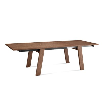 Must xl Extendable Dining Table Finish Walnut