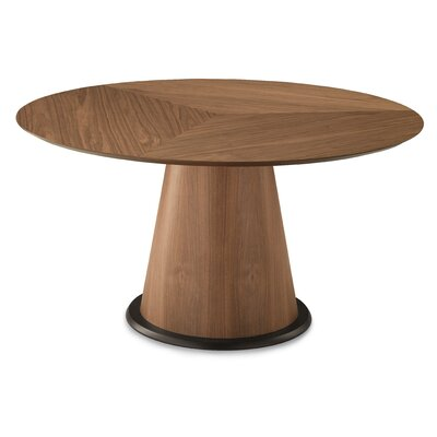 Palio 152 Dining Table Finish: Frame: Walnut/ Top: Walnut