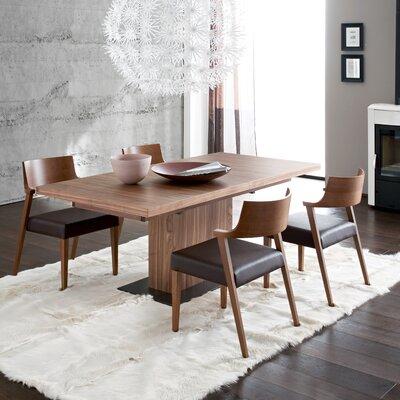 Domitalia Vita Extendable Dining Table - Finish: Walnut