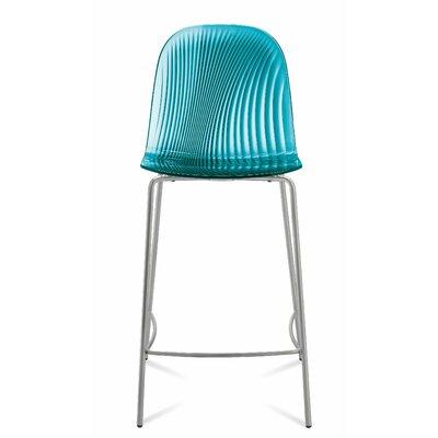 Playa 26.5 Bar Stool Upholstery: Transparent Blue