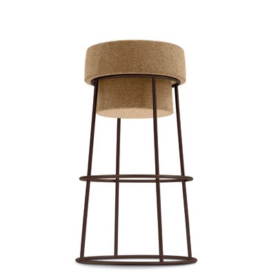 Bouchon 26 Bar Stool Finish: White