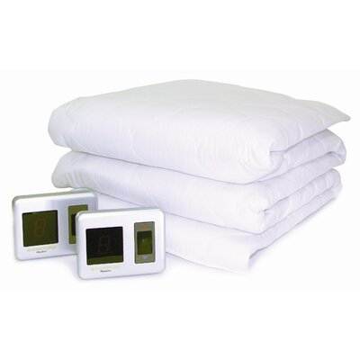 Biddeford Blankets Heated Mattress Pad with Digital Controller - Size: Full at Sears.com