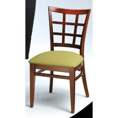 Low Price Grand Rapids Chair Melissa Window Back Wood Dining Chair (Set of 2)
