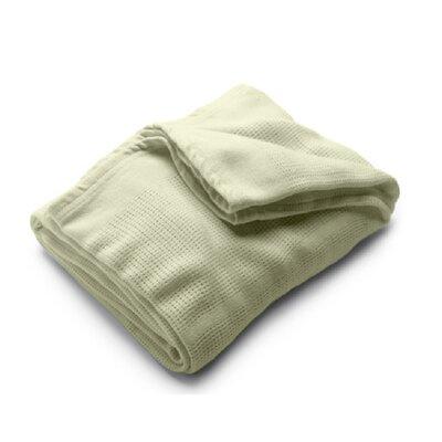 Conrad Travel Linen Blanket Color: Sage