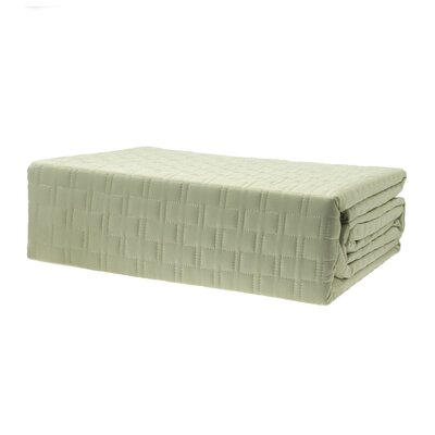 Coverlet Color: Sage, Size: King