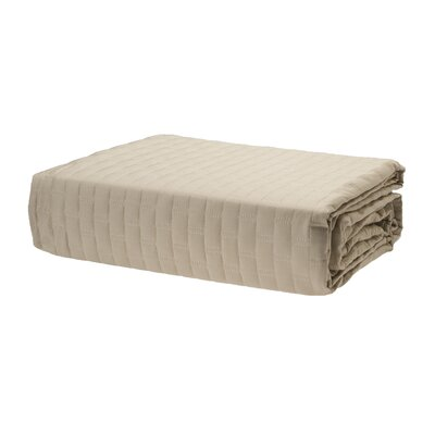 Coverlet Color: Champagne, Size: King