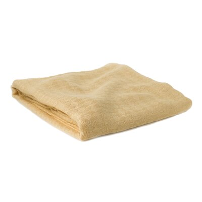 Blanket Size: Travel / Throw, Color: Butter