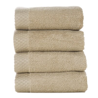 Resort Bamboo Rayon Wash Cloth Color: Champagne