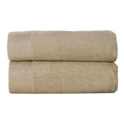 Resort Rayon from Bamboo Hand Towel Color: Champagne