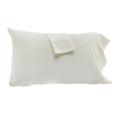 Pillowcase Color: Ivory, Size: King
