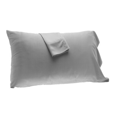 Pillowcase Size: King, Color: Platinum