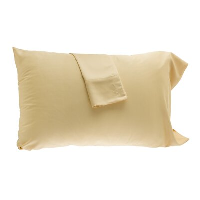 Pillowcase Size: Queen, Color: Butter