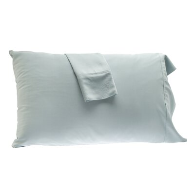 Pillowcase Color: Sky, Size: King