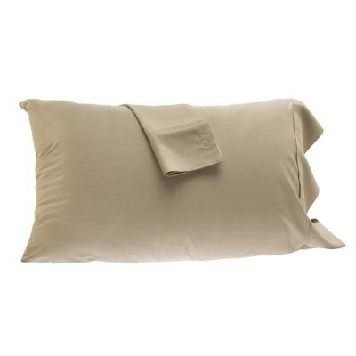 Pillowcase Size: Full, Color: Champagne