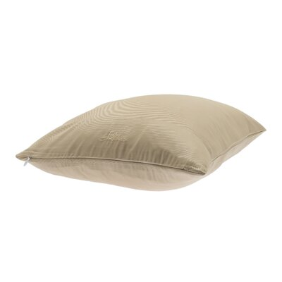 Conrad Travel Pillowcase Color: Champagne