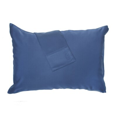 Pillowcase Size: Queen, Color: Indigo