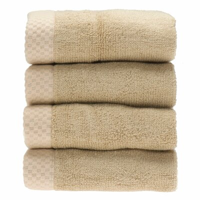 Resort Wash Cloth Color: Champagne