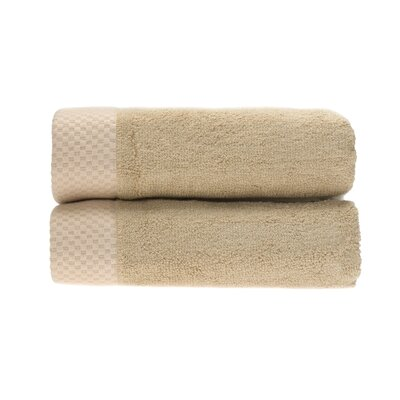 Resort Hand Towel Color: Champagne