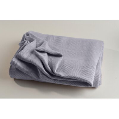 Conrad Travel Linen Blanket Color: Platinum