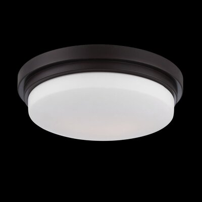 Wilson 1-Light Flush Mount Finish: Bronze