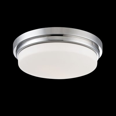 Wilson 1-Light Flush Mount Finish: Chrome