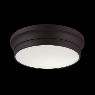Jane 1-Light Flush Mount Finish: Bronze