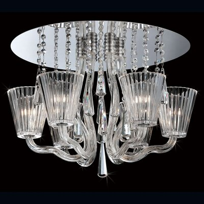 Corato 6-Light Flush Mount