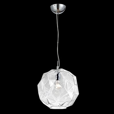 Studio 1-Light Mini Pendant Finish: Clear