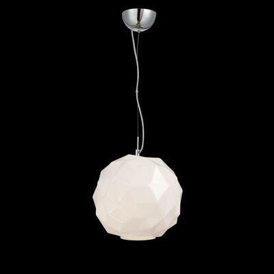 Studio 1-Light Mini Pendant Finish: Opal White