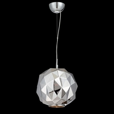 Studio 1-Light Mini Pendant Finish: Chrome