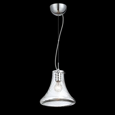Bloor 1-Light Mini Pendant Size: Small