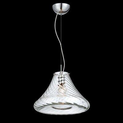 Bloor 1-Light Mini Pendant Size: Large