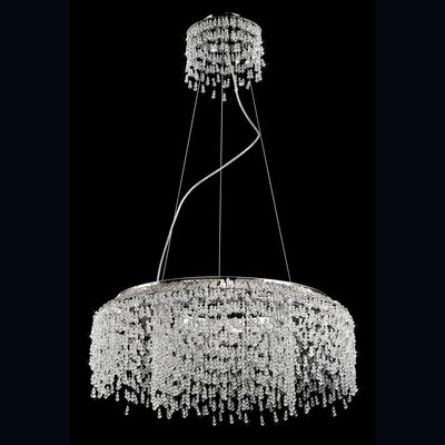 Fonte 8-Light Crystal Pendant