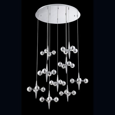 Pearla 36-Light Cascade Pendant