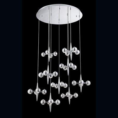Pearla 36-Light Cascade Pendant