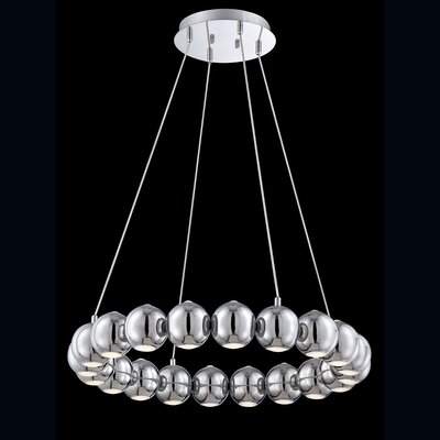 Pearla 16-Light Kitchen Island Pendant