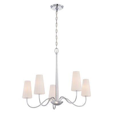 Enza 5-Light Candle-Style Chandelier